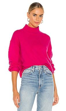 Julia Mock Neck Sweater Line & Dot $92