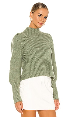 Elizabeth Puff Sleeve Sweater Line & Dot $92