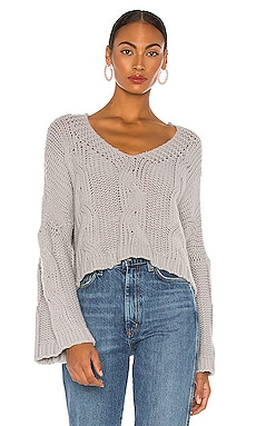 Kaylee Chain Pullover Line & Dot $90 NEW