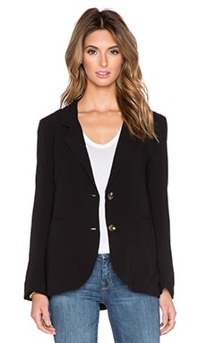 Line & Dot Jackson Blazer in Black