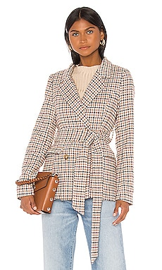 VESTE CHECK Line & Dot $127