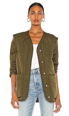 Florence Padded Jacket Line & Dot $56
