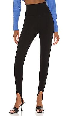 Jules Knit Stirrup Legging Line & Dot $104
