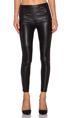 Line & Dot Mauvais Garcon Moto Pant in Black