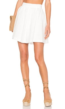 Line & Dot Concorde Full Skirt in White