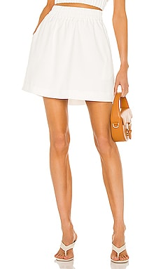 Josie Mini Skirt Line & Dot $70
