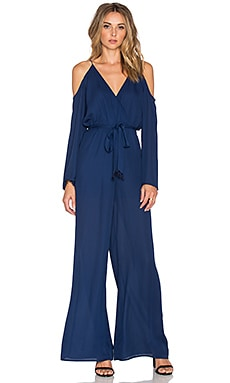 Line & Dot Marais Jumpsuit in Navy