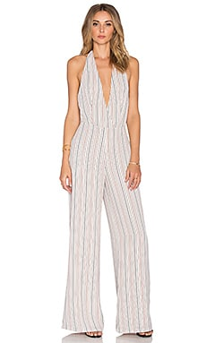 Line & Dot St. Marguerite Jumpsuit in Cream