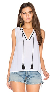 Iglesia Contrast Stitch Top
