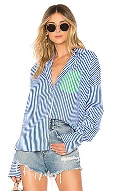 Купить Рубашка skylar - Line & Dot, Длинные рукава, Китай, Королевский синий
