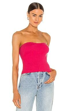 Cece Knit Top Line & Dot $36