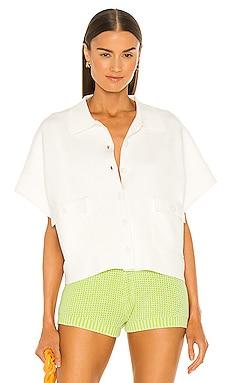 Emma Collared Pocket Sweater Top Line & Dot $37