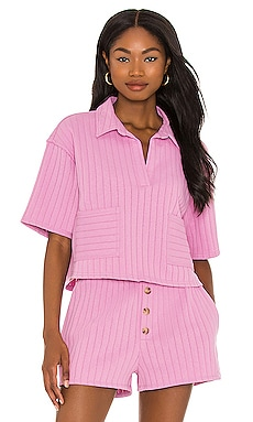 Bexley Collared Top Line & Dot $99