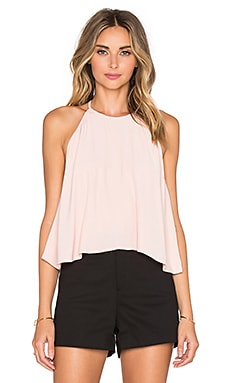 Lucienne Halter Top in Rose