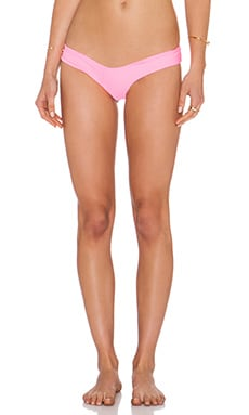 LEE + LANI The Maui Bikini Bottom in Tropical Pink