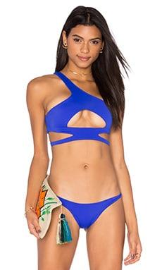 LEE + LANI x REVOLVE The Sparkler Bikini Top in Cobalt