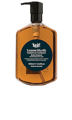 Lemon Myrtle Body Cleanser Leif $39