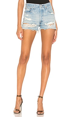 SHORT EN JEAN 501 HIGH RISE LEVI'S $70 BEST SELLER