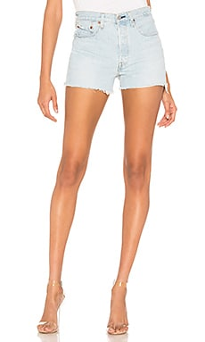 501 High Rise Short in Weak LEVI'S $49