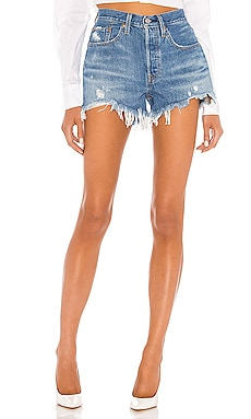 SHORT EN JEAN 501 ORIGINAL LEVI'S $70 BEST SELLER