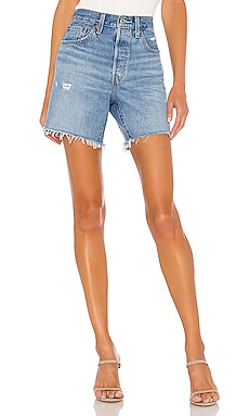 SHORT EN JEAN 501 MID THIGH LEVI'S $70 BEST SELLER