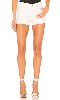 frayed denim shorts - White Levi's 3O6tuPjU1Z