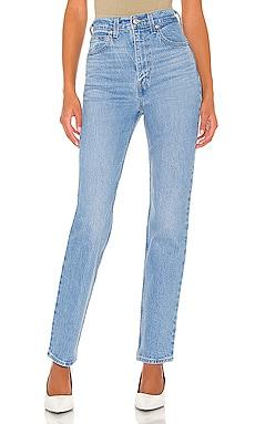70s High Rise Slim Straight Jean LEVI'S $98 NEW