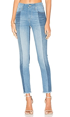 721 High Rise Skinny in Indigo Undone