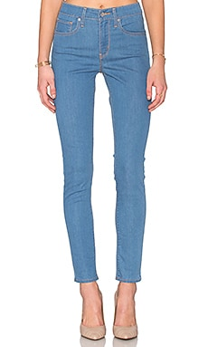 LEVI'S 721 High Rise Skinny in Cerulean Valley