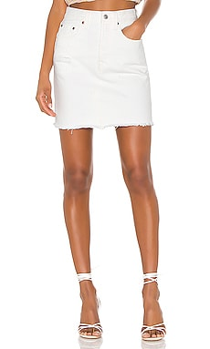 High Rise Deconstructed Skirt LEVI'S $80
