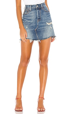 High Rise Deconstructed Skirt LEVI'S $80 BEST SELLER