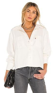Zoey Pleat Utility Shirt LEVI'S $80