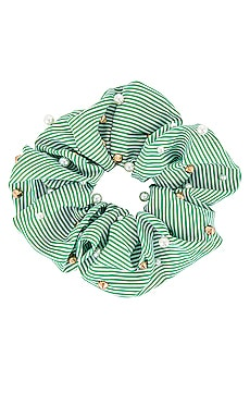 Seersucker Embellished Oversized Scrunchie Lele Sadoughi $15 (FINAL SALE)