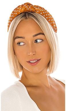 Star Studded Silk Knotted Headband Lele Sadoughi $170 NEW ARRIVAL