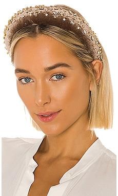 Crystal Padded Headband Lele Sadoughi $84