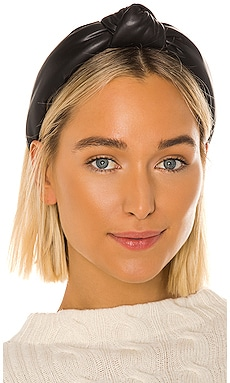Faux Leather Knotted Headband Lele Sadoughi $65 BEST SELLER