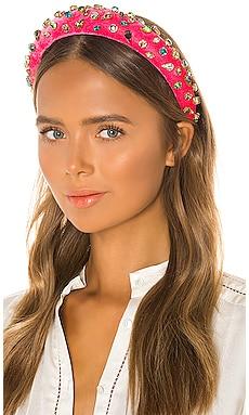Padded Candy Jeweled Headband Lele Sadoughi $129