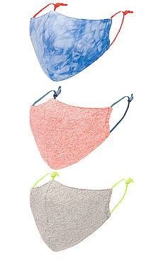 Set of 3 Face Masks Lele Sadoughi $40 (FINAL SALE)