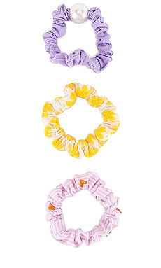 Set of 3 Scrunchies Lele Sadoughi $32