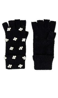 Pearl Cluster Fingerless Gloves Lele Sadoughi $67