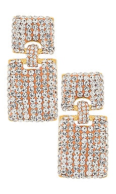 Crystal Victoria Earrings Lele Sadoughi $225