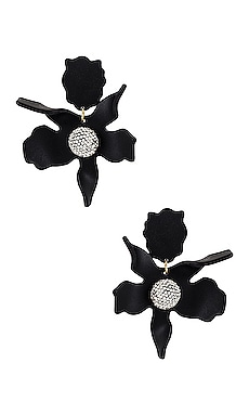 Crystal Lily Pierced Earrings Lele Sadoughi $198