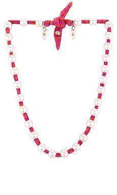 Pearl Skinny Scarf Necklace Lele Sadoughi $40 (FINAL SALE)