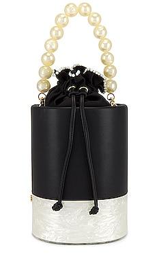 Contrast Bucket Bag Lele Sadoughi $154