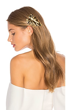 LELET NY Palm Leaf Comb in 14K Gold