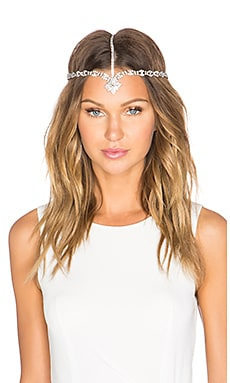 LELET NY Bella Crystal Crown in Sterling Silver