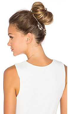 LELET NY Oscar Top Knot Halo in Antique Gold