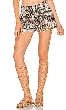 Lenny Niemeyer Tie Waist Short in Ban Hoy