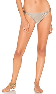Lenny Niemeyer Adjustable European Bikini Bottom in Smoke