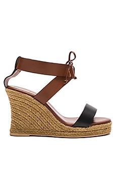 Mara Wedge in Coffee